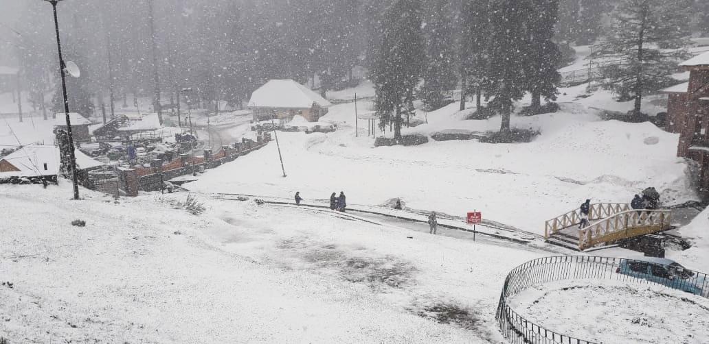 जम्मू-कश्मीर और लद्दाख में मौसम की पहली बर्फबारी, बर्फ की सफेद चादर से ढकी घाटी